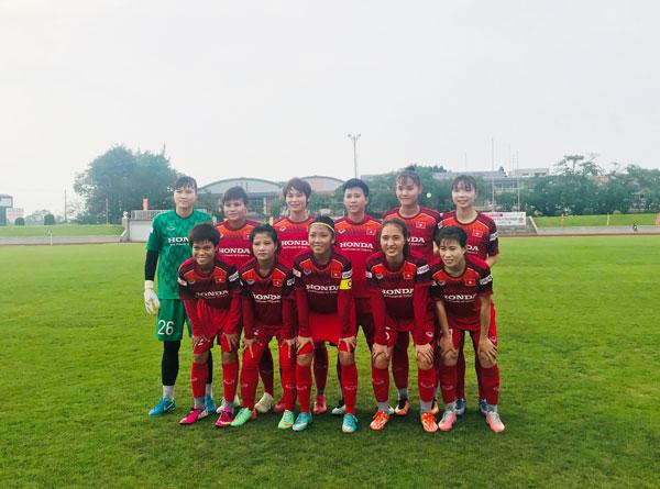Thi đấu giao hữu (4/8), ĐT nữ Việt Nam vs CLB nữ Sendai (Fuksuhima): 0-3