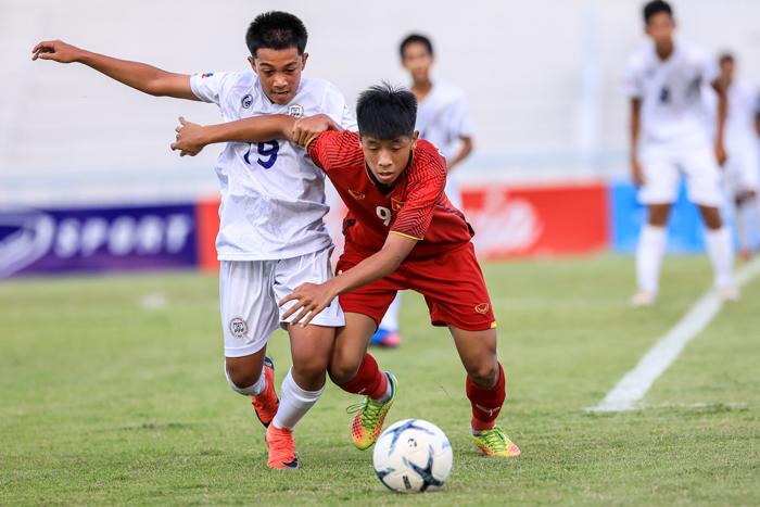 Giành trọn 3 điểm trước Timor Leste, U15 Việt Nam vào bán kết Giải vô địch U15 Đông Nam Á 2019