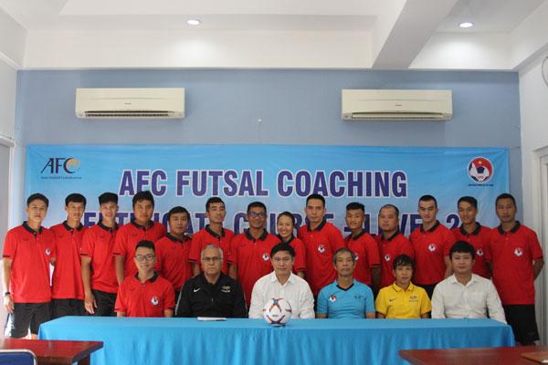 Khai giảng khóa học huấn luyện viên Futsal cấp 2 AFC