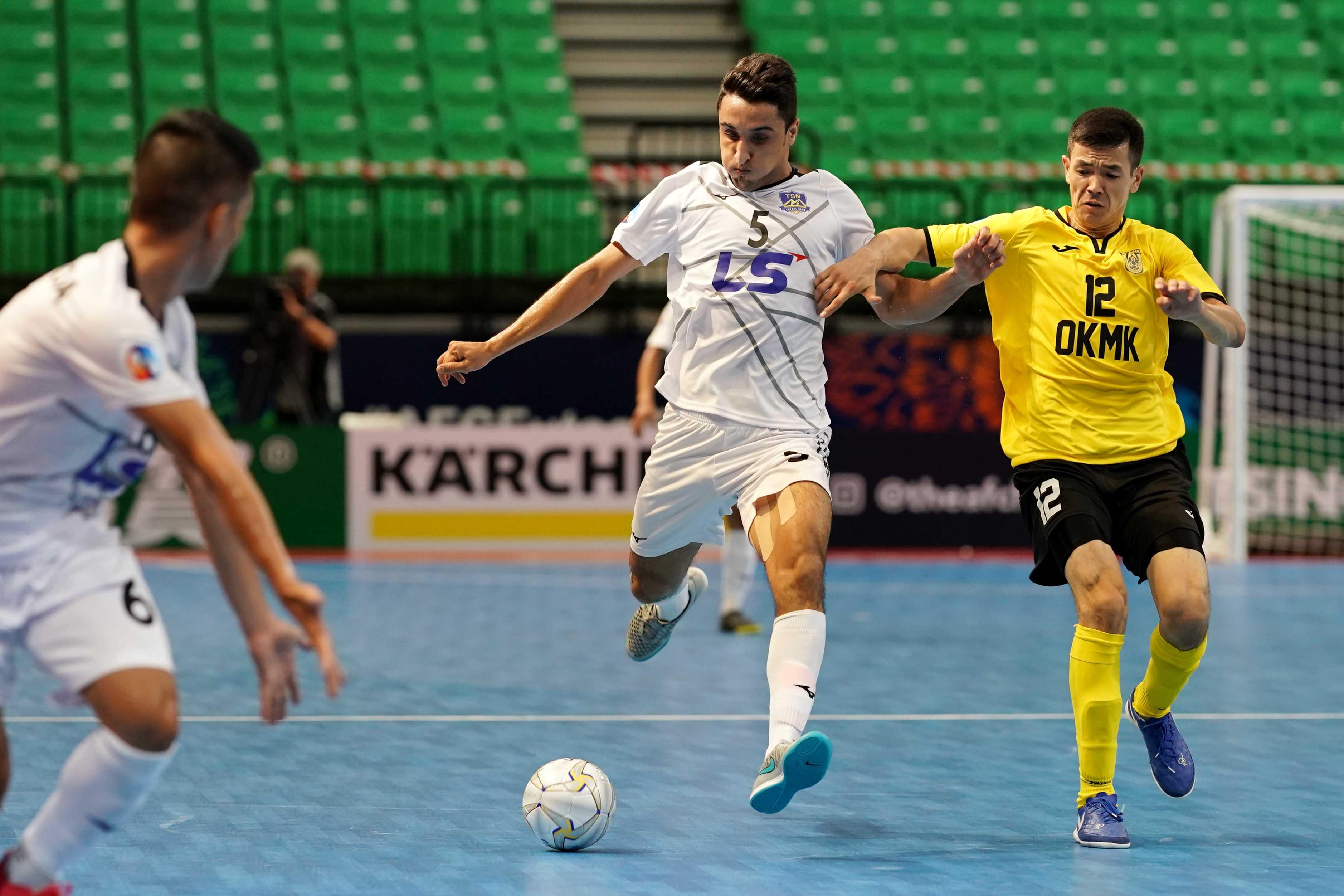 Ngược dòng ấn tượng trước AGMK, Thái Sơn Nam khởi đầu thuận lợi ở giải futsal CLB châu Á