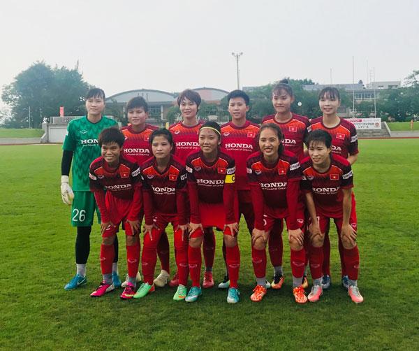 """HLV trưởng Mai Đức Chung: """"Đội tuyển nữ Việt Nam đã gặp những đối thủ rất mạnh ở Nhật Bản"""""""