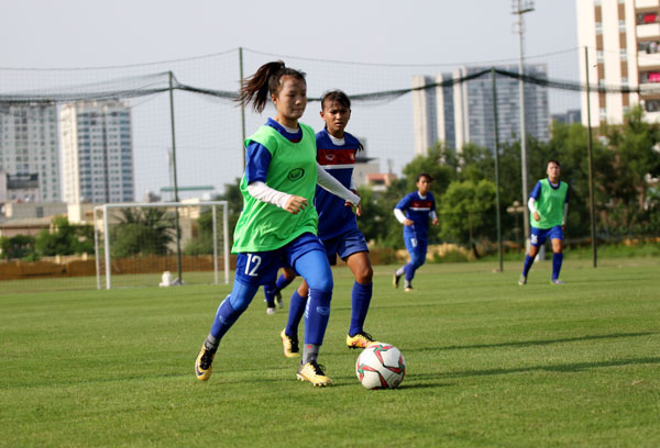 Đội tuyển U16 nữ Quốc gia tập trung, chuẩn bị cho VCK U16 nữ châu Á 2019