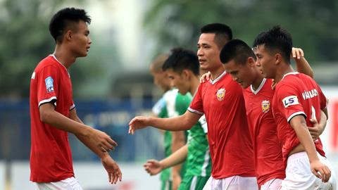 Vòng 17 Giải hạng Nhất QG - LS 2019: HL Hà Tĩnh rộng đường vô địch