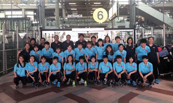 Giải nữ Đông Nam Á 2019: ĐT nữ Việt Nam tự tin trước trận mở màn gặp Campuchia
