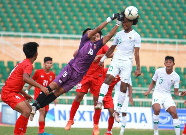 Indonesia và Myanmar vào bán kết giải U18 vô địch ĐNA - Cúp Next Media 2019