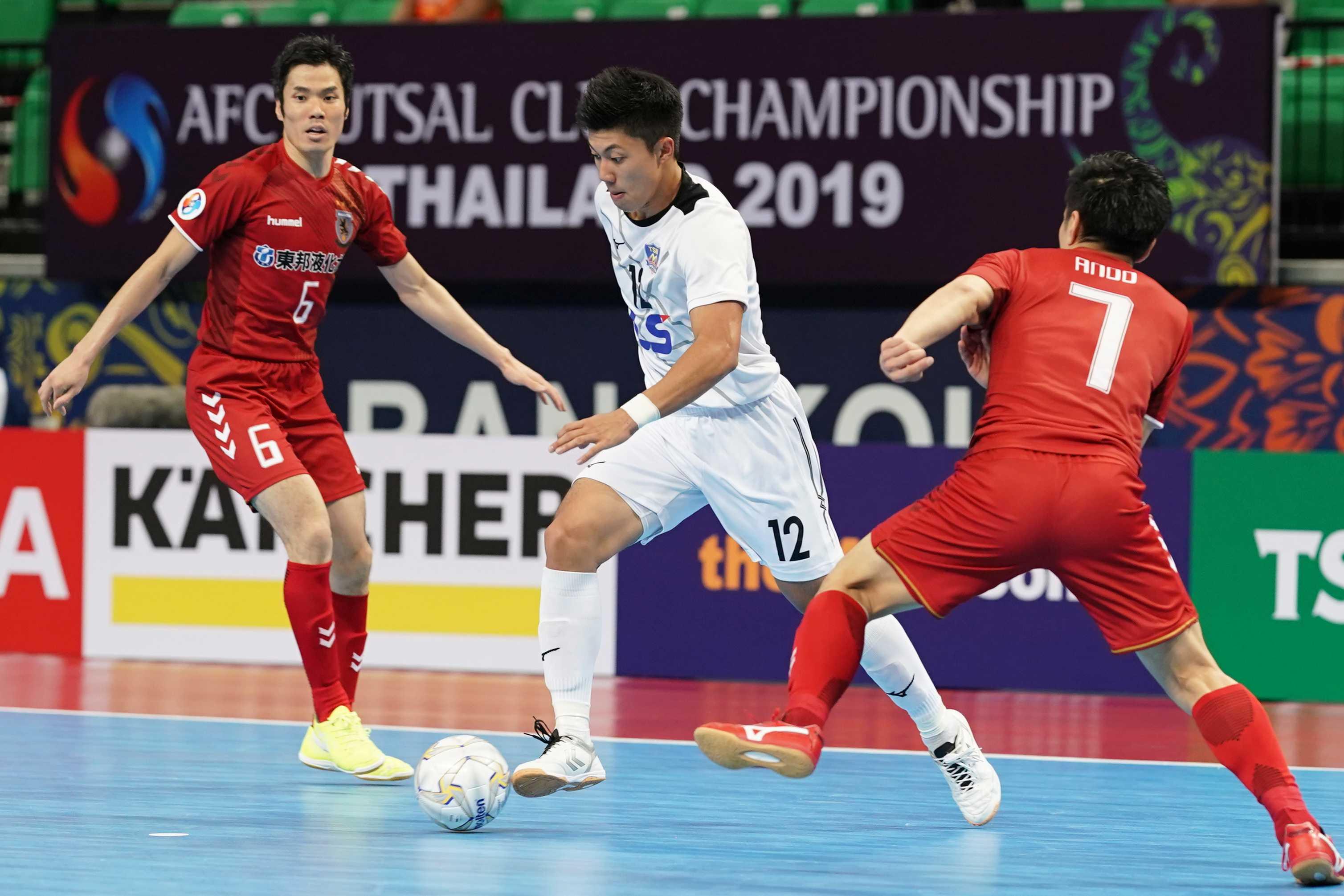 Thua Nagoya Oceans 1-3, Thái Sơn Nam tranh hạng ba tại Giải futsal CLB châu Á 2019