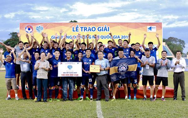 Thắng Trẻ Hà Nội với tỷ số 1-0, Bà Rịa Vũng Tàu đăng quang ngôi vô địch giải bóng đá hạng Nhì Quốc gia 2019