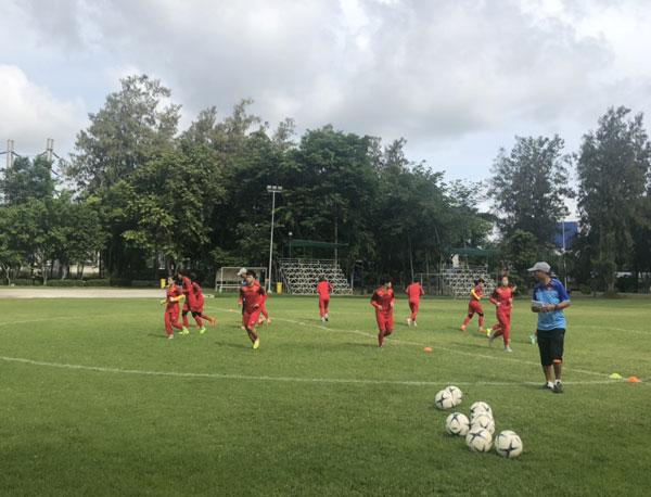 Đội tuyển nữ Việt Nam giữ tinh thần thoải mái trước trận gặp đội tuyển nữ Indonesia