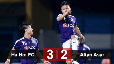 Hà Nội FC 3-2 Altyn Asyr: Chủ nhà đánh gục hiện tượng của Turkmenistan