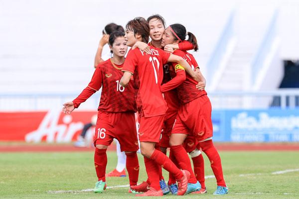 Thắng Philippines 2-1, Việt Nam vào chung kết giải bóng đá nữ Đông Nam Á 2019