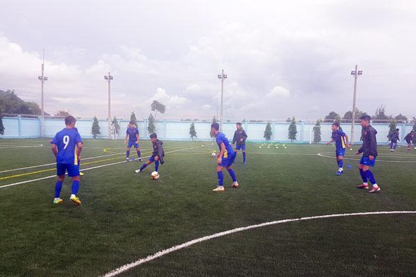 Đội tuyển U15 Việt Nam tự tin đánh bại đội tuyểnU15 Nga