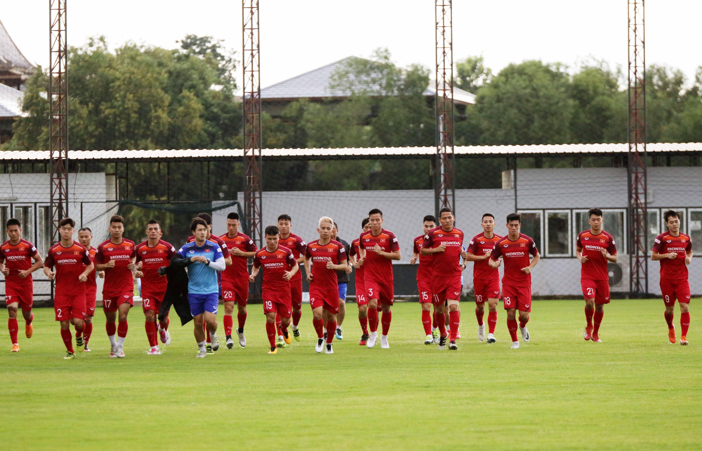 ĐT Việt Nam chốt danh sách chính thức 23 cầu thủ cho trận đấu với ĐT Thái Lan