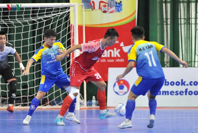Lượt 14 VCK giải futsal HDBank VĐQG 2019: Sahako tiếp tục bám sát Thái Sơn Nam