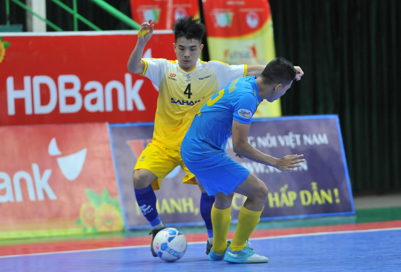 Lượt 15 VCK giải futsal HDBank VĐQG 2019: Sahako mất điểm trước Sanna Khánh Hòa