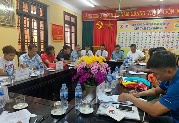 Ngày mai (13/9), khởi tranh lượt về giải bóng đá nữ VĐQG - Cúp Thái Sơn Bắc 2019