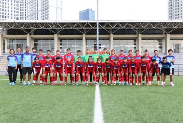 Danh sách chính thức đội tuyển U16 nữ Việt Nam tham dự VCK U16 nữ châu Á 2019