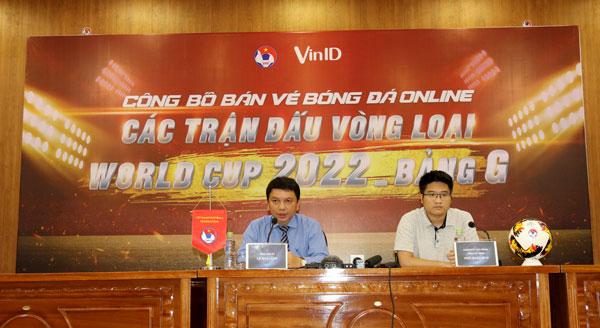 LĐBĐVN công bố kế hoạch mở bán vé các trận đấu của ĐTVN tại VL 2 World Cup 2022 bảng G