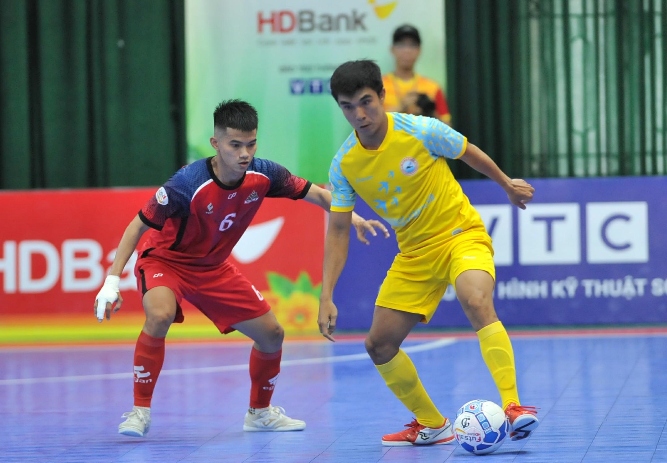 Lượt 16 VCK giải futsal HDBank VĐQG 2019 (ngày 13/9): SS.Khánh Hòa vươn lên nhì bảng