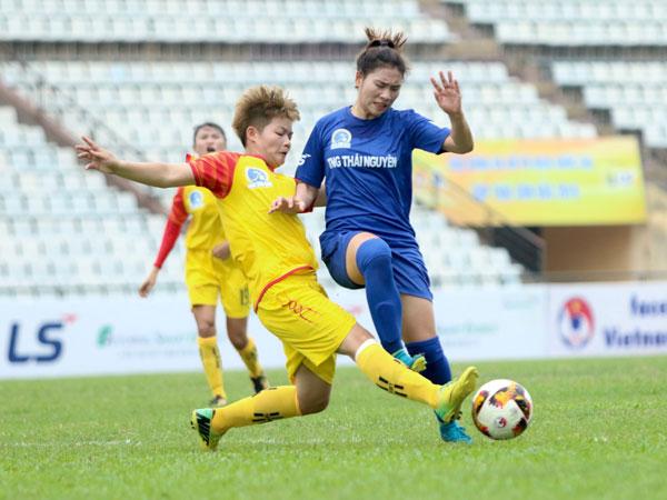 Vòng 9 giải bóng đá nữ VĐQG - Cúp Thái Sơn Bắc 2019 (16/9): Chiến thắng lịch sử của Sơn La