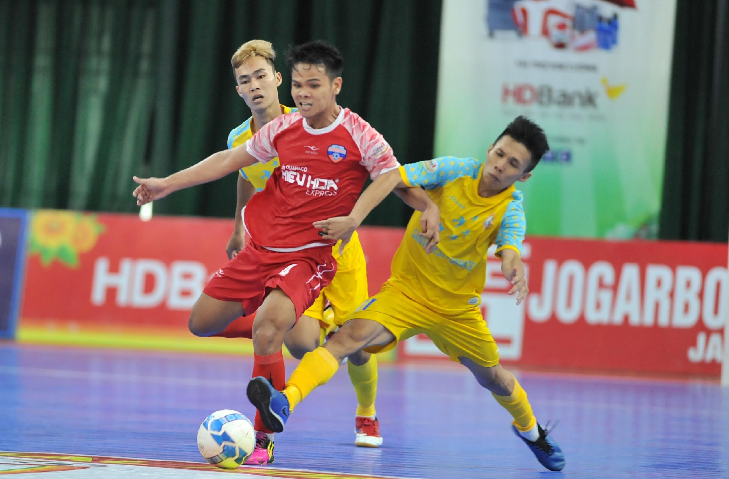 Lượt 17 VCK giải futsal HDBank VĐQG 2019: Sanvinest Sanatech Khánh Hòa hụt bước