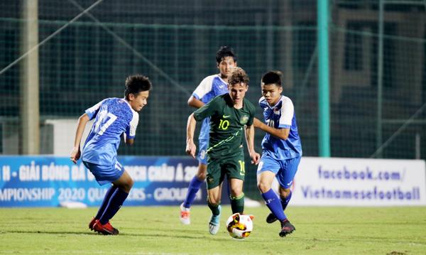 Vòng loại U16 châu Á 2020- bảng H: Timor Leste thắng nhàn, Australia vất vả giành 3 điểm
