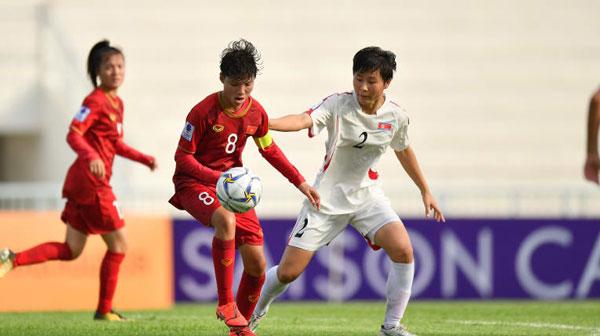 VCK U16 nữ châu Á 2019 (bảng B), CHDCND Triều Tiên vs Việt Nam: Nỗ lực bất thành