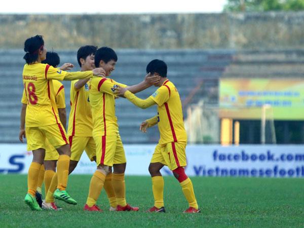 Vòng 9 giải BĐ nữ VĐQG - Cúp Thái Sơn Bắc 2019 (17/9): TP Hồ Chí Minh I bứt phá