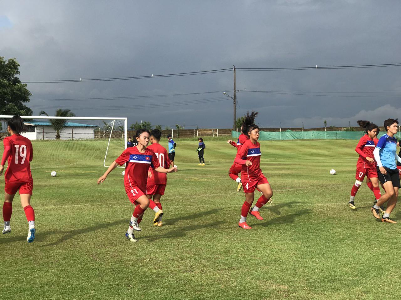 VCK U16 nữ châu Á 2019: U16 Việt Nam tiếp tục tập trung cho trận đấu với U16 Hàn Quốc