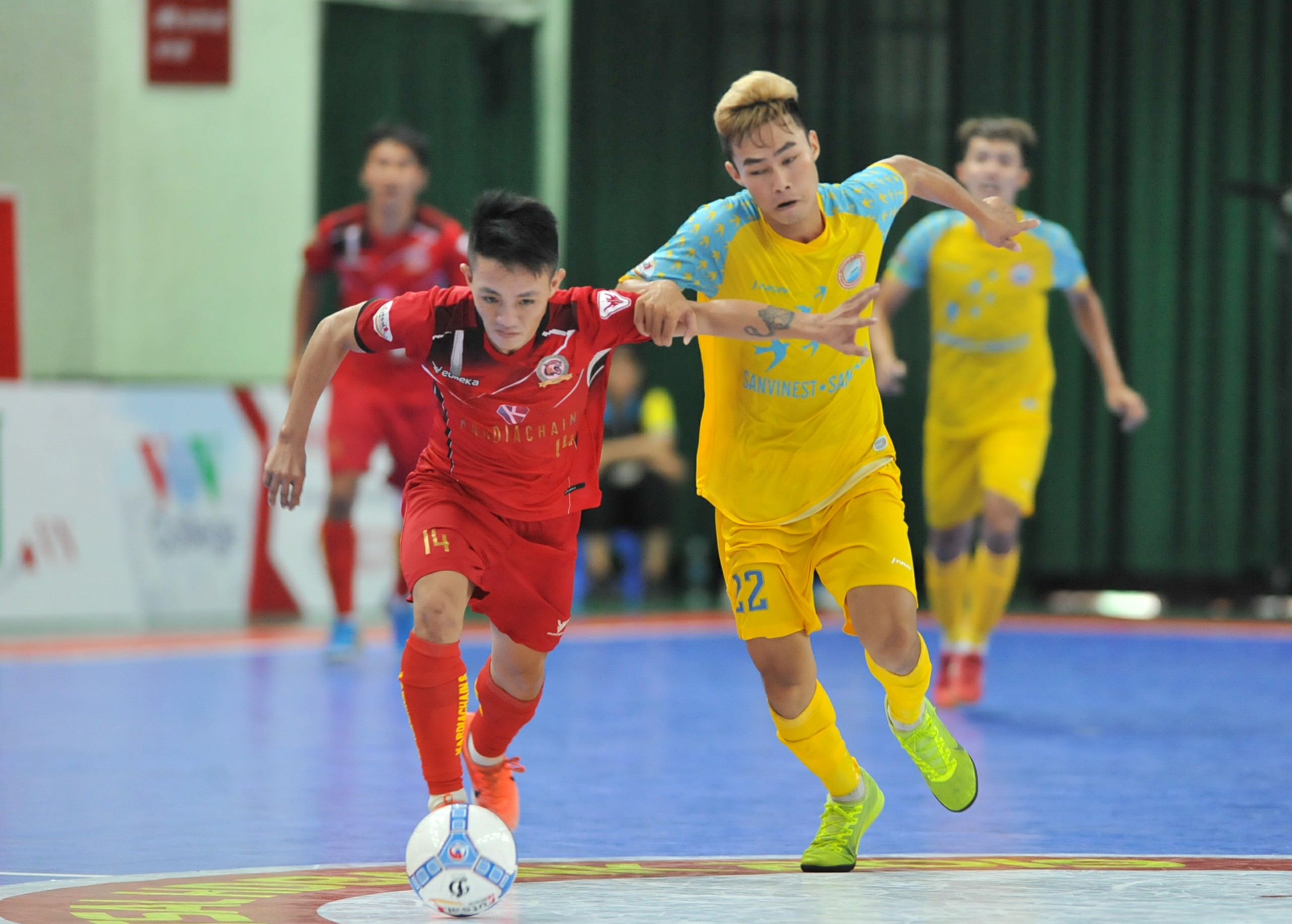 Lượt 18 giải Futsal HDBank VĐQG 2019 (ngày 18/9): SS.Khánh Hòa hết hi vọng cạnh tranh ngôi nhì bảng