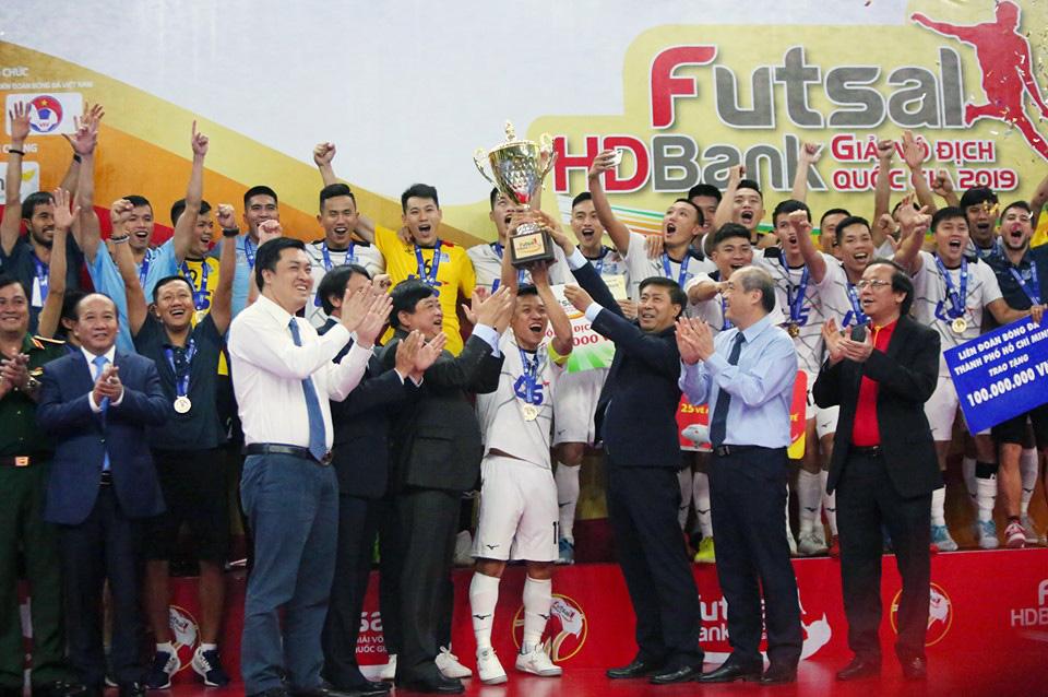 Kết thúc Giải Futsal HDBank VĐQG 2019: Thái Sơn Nam lần thứ 4 liên tiếp đăng quang ngôi vô địch