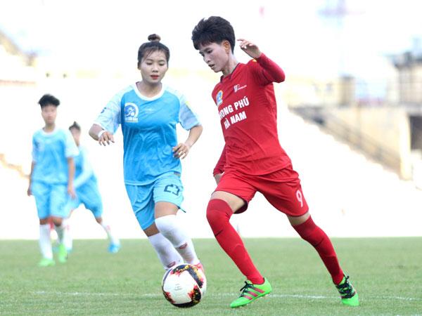 Vòng 10 giải BĐ nữ VĐQG - Cúp Thái Sơn Bắc 2019 (19/9): Chiến thắng đậm cho Phong Phú Hà Nam