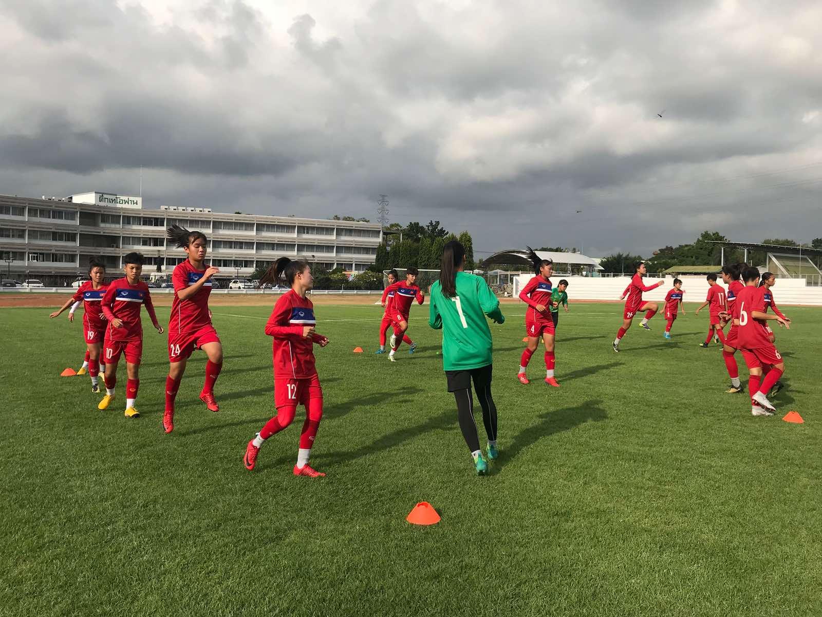 VCK U16 nữ châu Á 2019: U16 Việt Nam trước trận gặp U16 Trung Quốc dù chưa có điểm nhưng vẫn tự tin