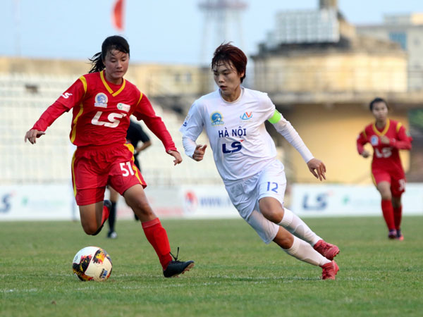 Vòng 10 giải BĐ nữ VĐQG – Cúp Thái Sơn Bắc 2019: Hà Nội níu giữ hy vọng đua vô địch