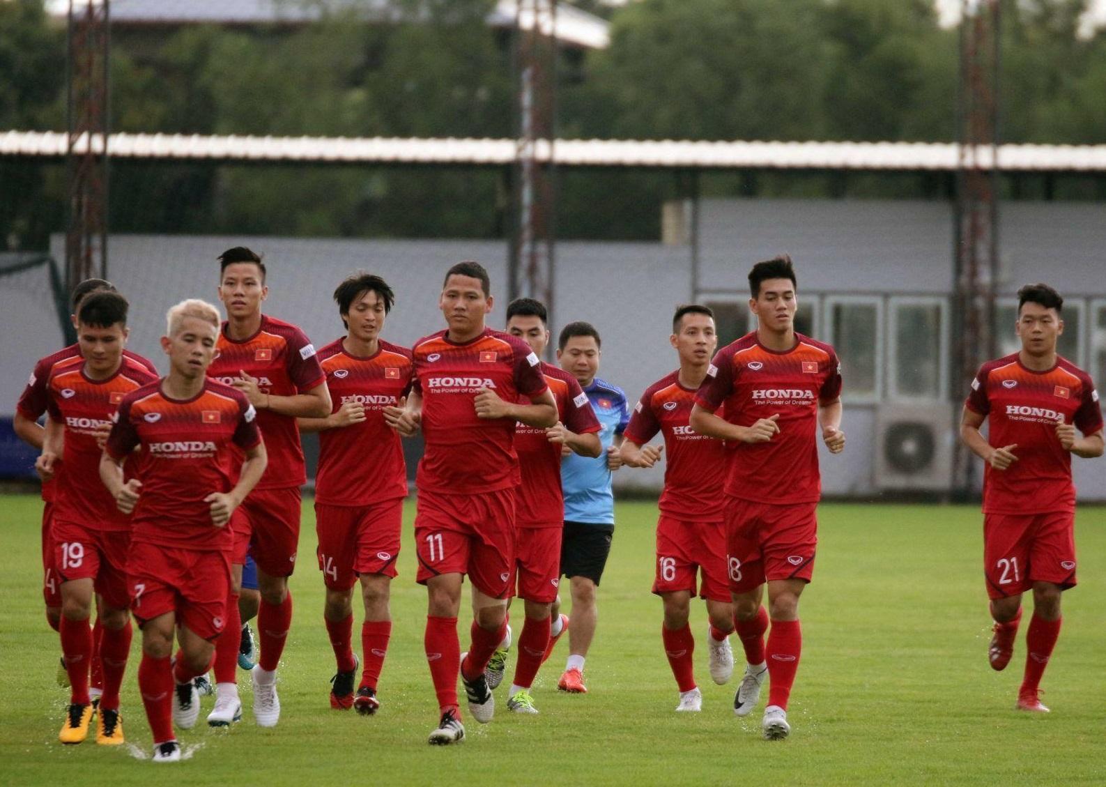 Ngày mai (22/9), ĐTQG Việt Nam hội quân, tiếp tục chuẩn bị cho Vòng loại World Cup 2022