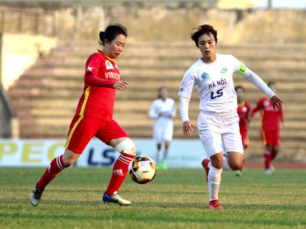 Vòng 11 giải BĐ nữ VĐQG - Cúp Thái Sơn Bắc 2019 (24/9): Hà Nội thắng thuyết phục