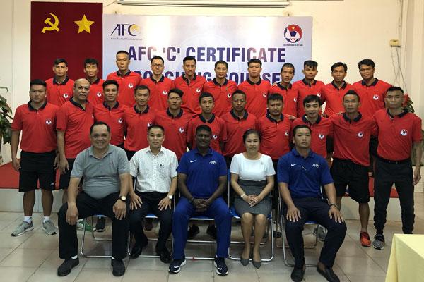 Khai giảng khóa học HLV Chứng chỉ 'C' AFC năm 2019