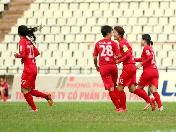 Vòng 12 giải BĐ nữ VĐQG - Cúp Thái Sơn Bắc 2019 (27/9): Hà Nội bám sát ngôi nhì bảng