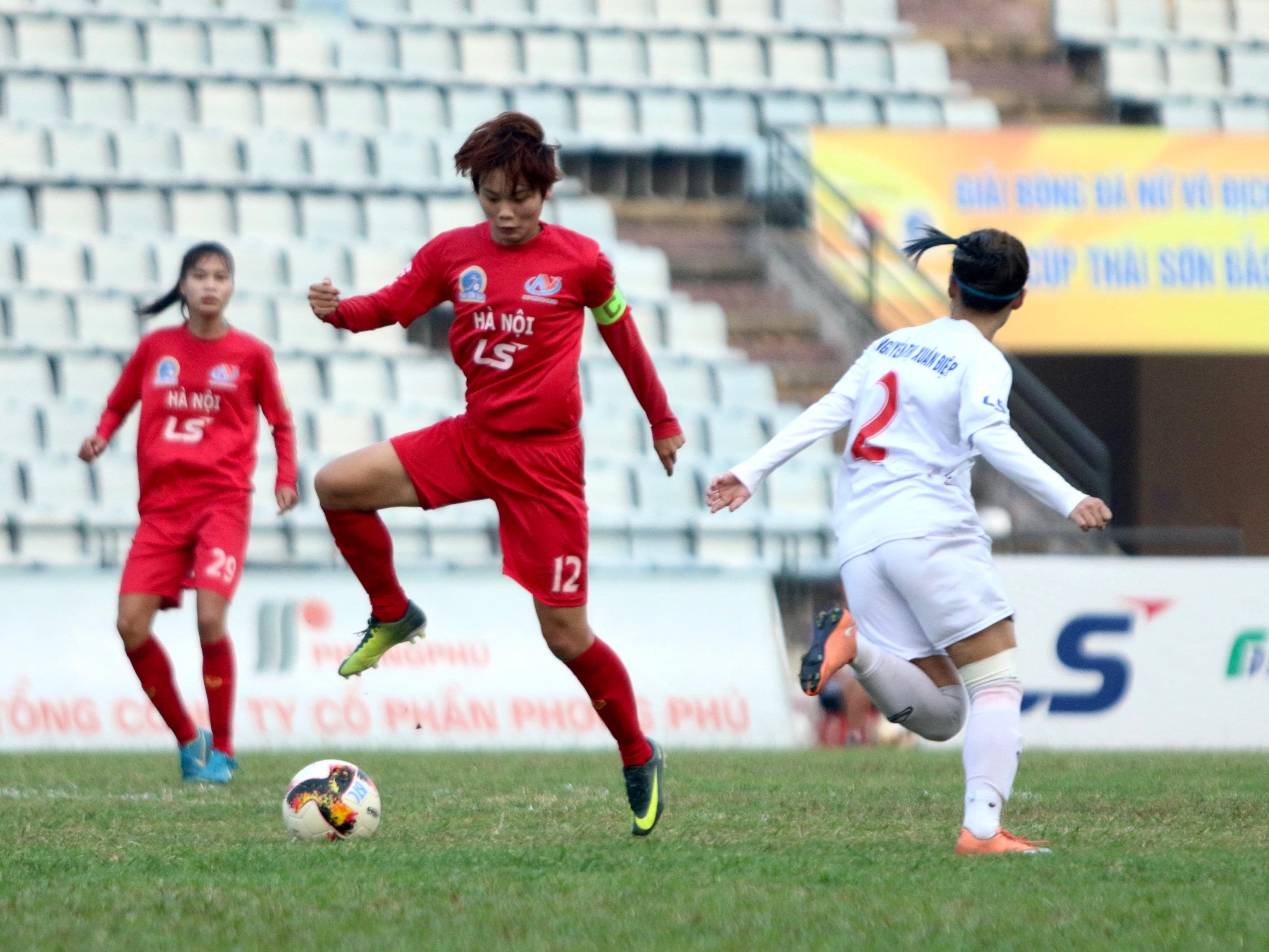 Vòng 13 giải BĐ nữ VĐQG – Cúp Thái Sơn Bắc 2019 (1/10): Hà Nội lên Nhì bảng