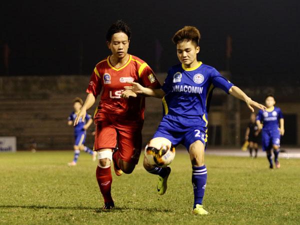 Vòng 14 giải BĐ nữ VĐQG – Cúp Thái Sơn Bắc 2019 (3/10): Bất phân thắng bại