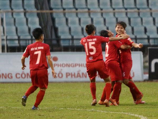 Hà Nội giành vị trí Á quân giải bóng đá nữ VĐQG - Cúp Thái Sơn Bắc 2019