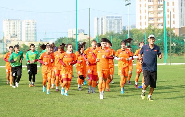 Đội tuyển U19 nữ Quốc gia tập trung, chuẩn bị cho VCK U19 nữ châu Á 2019