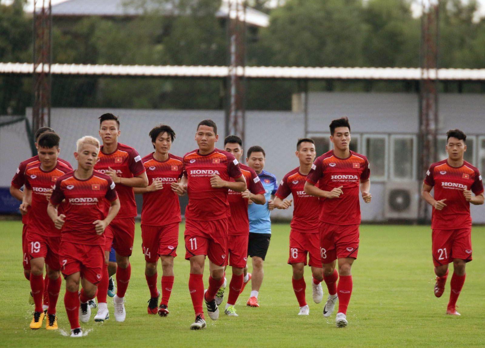 ĐT Việt Nam chốt danh sách 23 cầu thủ cho trận gặp Malaysia