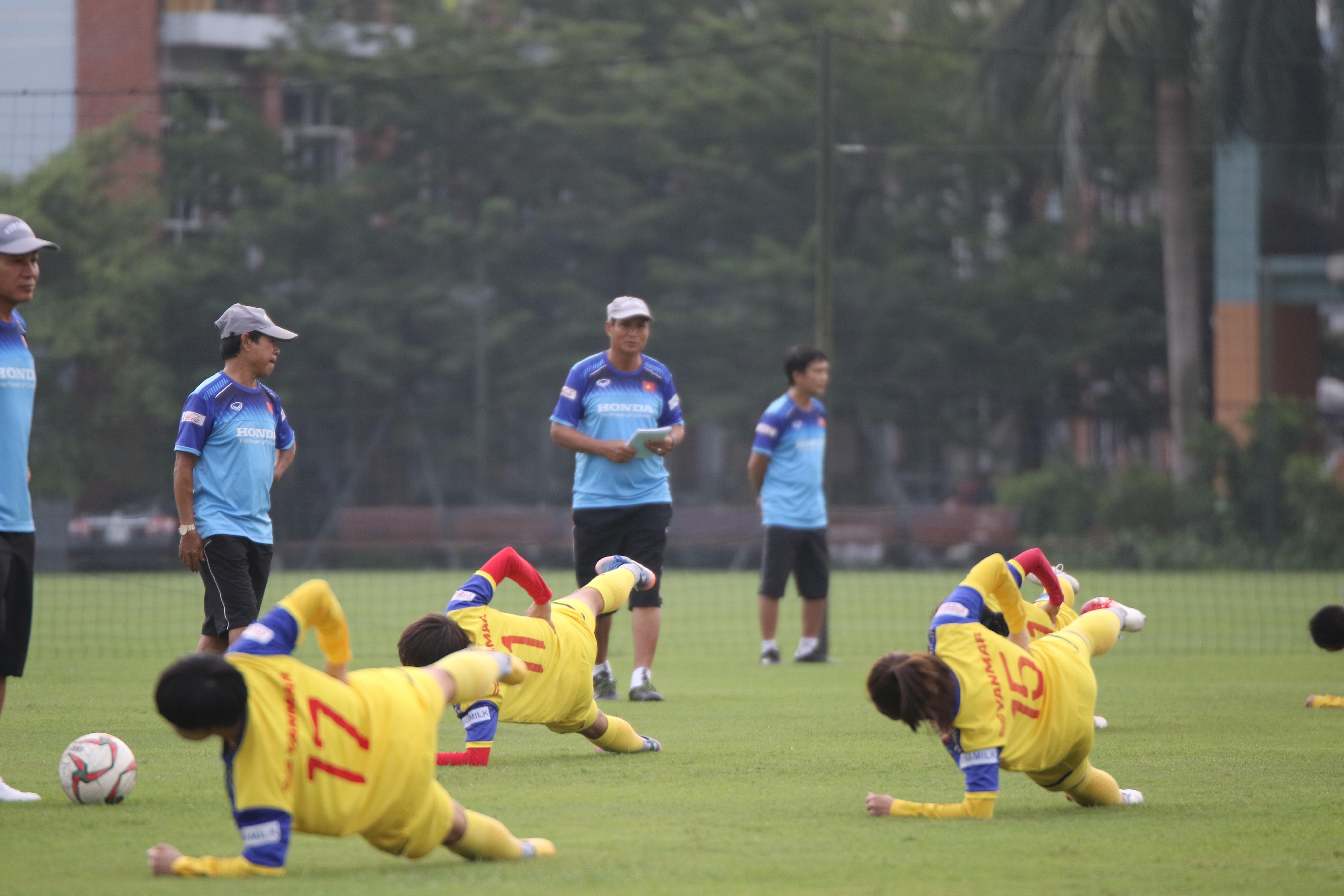 Đội tuyển nữ Quốc gia tập trung, chuẩn bị cho SEA Games 2019