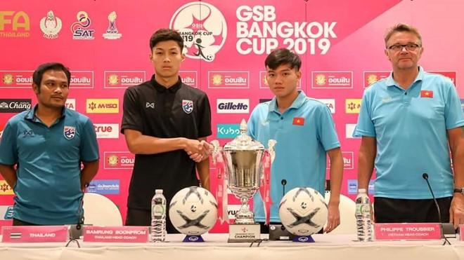 U19 Việt Nam sẵn sàng cho trận đấu với chủ nhà Thái Lan tại GSB Bangkok Cup 2019