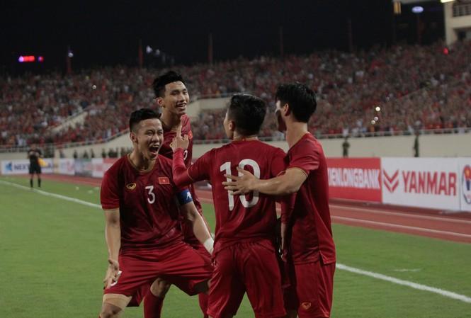 VFF thưởng động viên ĐT Việt Nam 1 tỷ đồng cho chiến thắng trước Malaysia