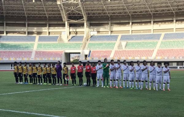 Thi đấu giao hữu (11/10), U19 nữ Việt Nam vs U19 nữ Myanmar: 1-0