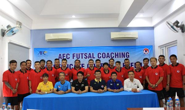 Khai giảng khoá học HLV Futsal cấp 1 AFC 2019 tại TP Hồ Chí Minh