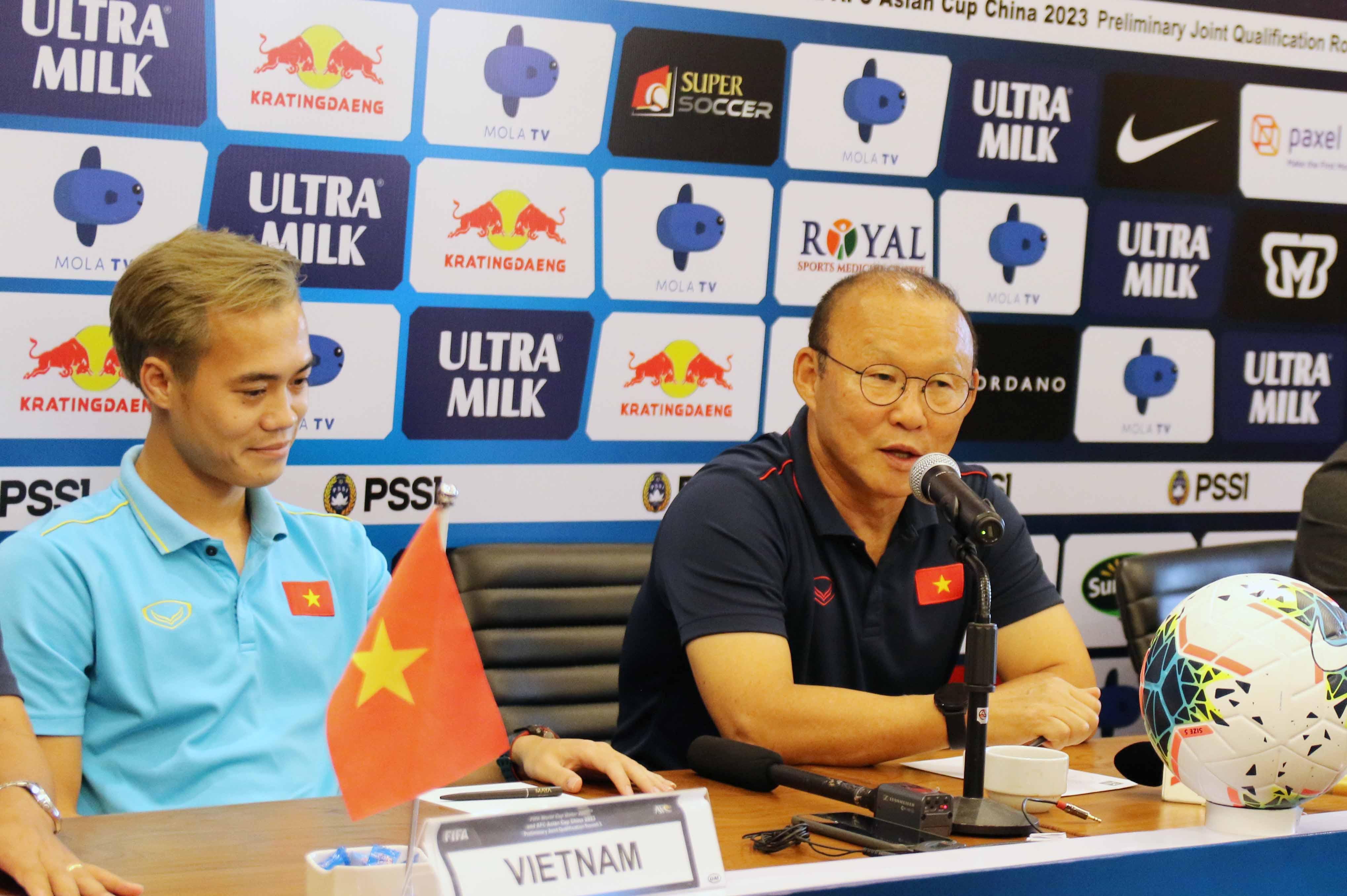 """HLV Park Hang-seo: """"Sự chuẩn bị của ĐT Việt Nam là sự chuẩn bị cho mục tiêu chiến thắng"""""""