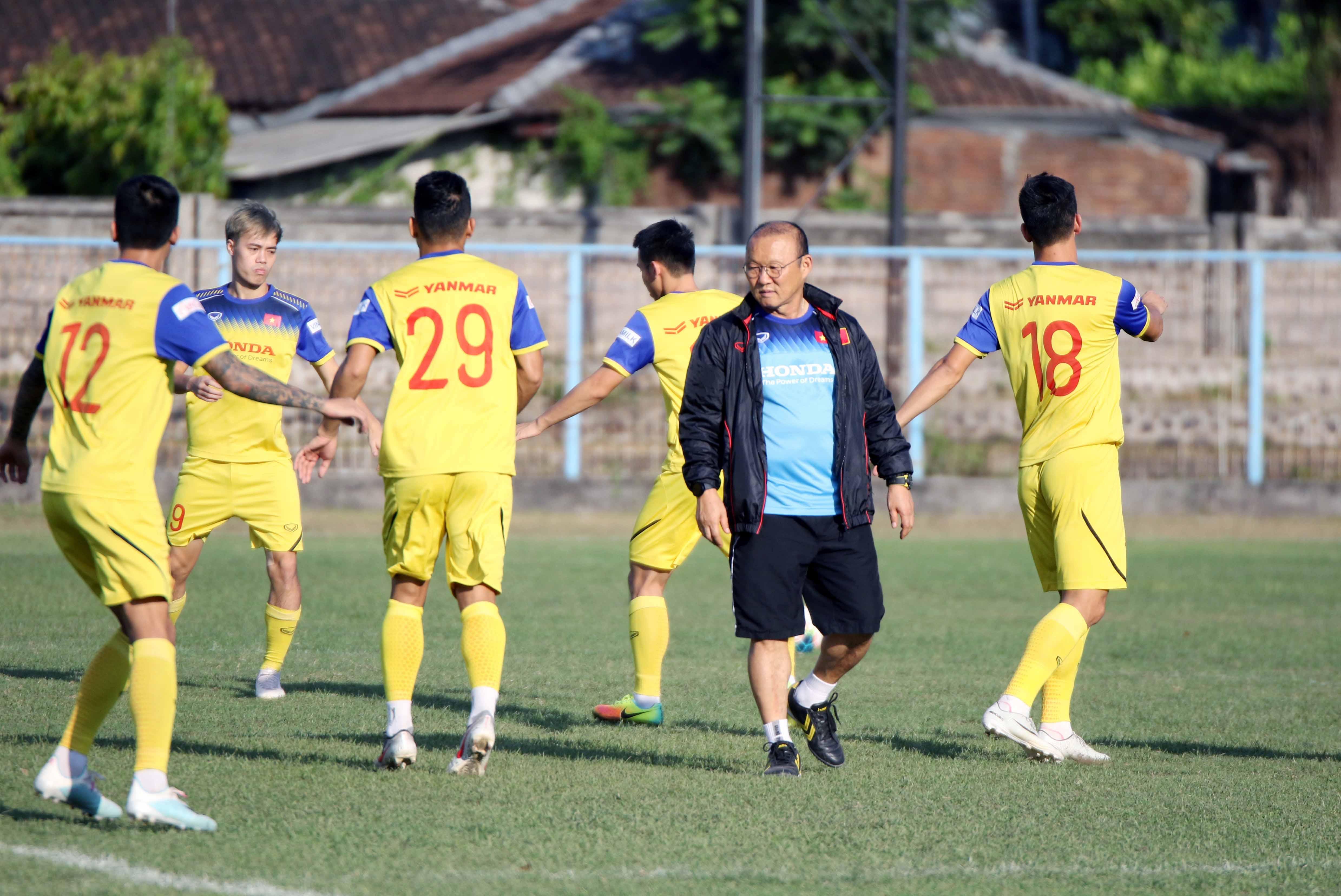 ĐT Việt Nam chốt danh sách 23 cầu thủ cho trận đấu với ĐT Indonesia