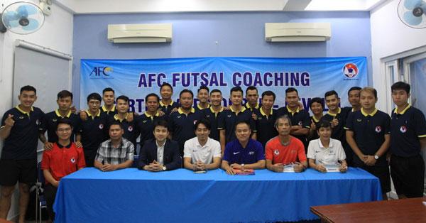 Lễ bế giảng khóa học HLV Futsal level 1 AFC tại TP Hồ Chí Minh